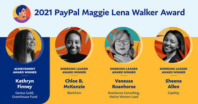2021 PayPal Maggie Lena Walker Award Winners