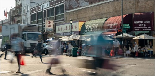 Picture of Chinatown in San Francisco
