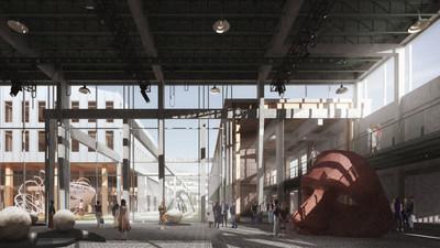 Avec son projet «Les ateliers Cabot», l'équipe représentée par Sid Lee Architecture revitalisera le 4000, rue Saint-Patrick, dans l'arrondissement du Sud-Ouest, à Montréal. (Groupe CNW/Ville de Montréal - Cabinet de la mairesse et du comité exécutif)