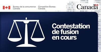 Le Bureau de la concurrence obtient des ordonnances judiciaires dans le cadre de sa contestation de l'acquisition de Tervita par Secure (Groupe CNW/Bureau de la concurrence)