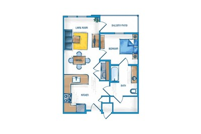 1 Bedroom Apartment   Slidell Louisiana Apartments For Rent