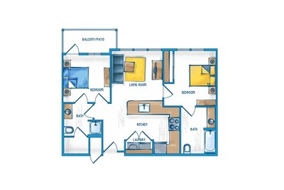 2 Bedroom Apartment   Slidell Louisiana Apartments For Rent