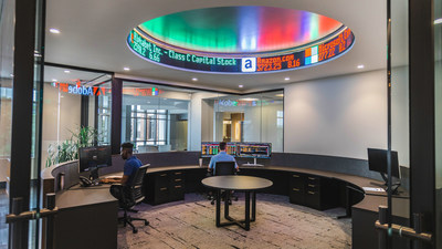 Greenleaf Trust's expanded research space in Kalamazoo offers state-of-the-art technology and is designed to enhance collaboration among employees.