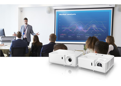 Optoma unveils two new compact XGA and WXGA laser projectors designed for K-12 classrooms, corporate environments and small to medium-sized venues.
