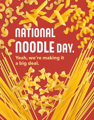 Celebrate National Noodles Day at Noodles & Company on October 6!