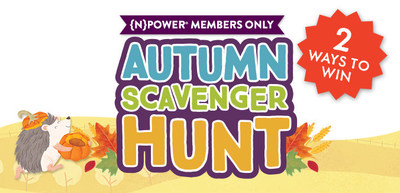 {N}power, Natural Grocers free loyalty program, is giving its members a chance to 'fall' in love with Natural Grocers Brand products while earning extra rewards at the same time.  Introducing the Autumn Scavenger Hunt: When {N}power customers purchase Natural Grocers Brand products from different categories they earn a $2 reward for purchasing from three categories or a $5 reward for purchasing from all five. The categories are Grocery, Refrigerated & Frozen, Bulk, Supplements and Cleaning.