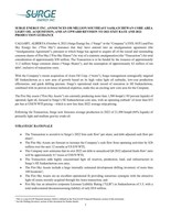 PDF (CNW Group/Surge Energy Inc.)