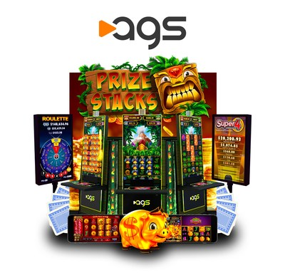 It's all about the games at AGS' Global Gaming Expo exhibit No. 1253, this week at the Sands Expo in Las Vegas.