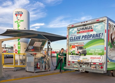U-Haul has teamed with national distributor Suburban® to continue supplying renewable propane at more than 60 stores across California.