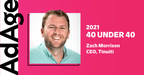 Tinuiti CEO Zach Morrison Named to Ad Age's 2021 40 Under 40 List...