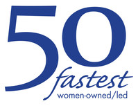 The 50 Fastest-Growing Women-Owned/Led Companies of 2021, presented by the Women Presidents' Organization (WPO) and sponsored by JPMorgan Chase Commercial Banking.