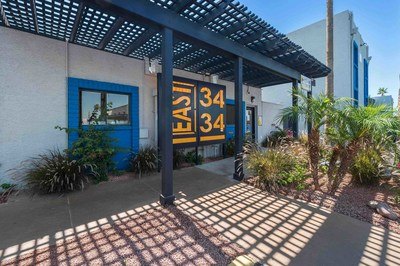 SBREP has acquired East 3434 Apartments, a Class B, 128-unit garden-style apartment community located in Phoenix for $27.5 million