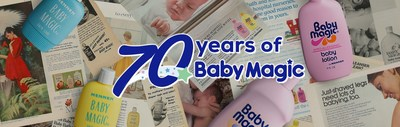 Baby Magic celebrates its 70th anniversary this October