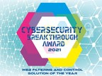 DNSFilter Wins 2021 CyberSecurity Breakthrough and GetApp Leader...
