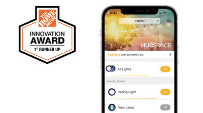The Home Depot Innovation Award First Runner-Up: Hubspace, Powered by Afero