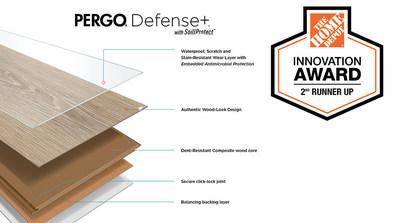 The Home Depot Innovation Award Second Runner-Up: Pergo Defense+