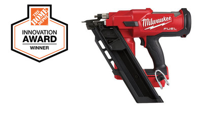 The Home Depot Innovation Award Winner: Milwaukee M18 FUEL Cordless Framing Nailer