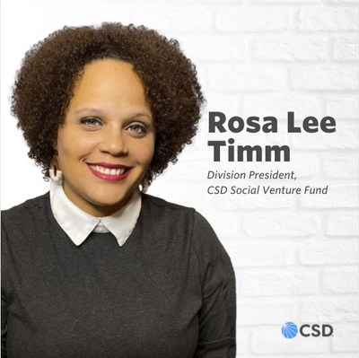 Removing barriers and creating accessible resources is key to creating space for Deaf entrepreneurs to succeed. Rosa Lee Timm, the new Division President of the CSD Social Venture Fund, plans to do just that.