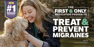 NURTEC ODT 75 mg is the first and only dual-therapy migraine medication approved for both the acute treatment and preventive treatment of migraine.