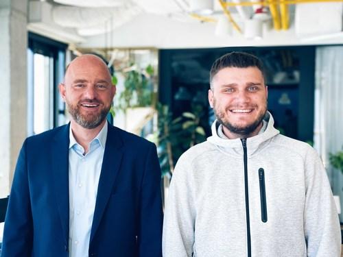 Morten Schmidt, new CEO, and Slava Mazai, CIO (PRNewsfoto/OneSoil)