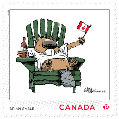 Brian Gable stamp (CNW Group/Canada Post)