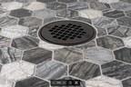 Oatey公司推出哑光黑色淋浴排水饰面,为客户提供更多功能的设计