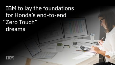 """IBM to lay the foundation for Honda's end-to-end """"Zero Touch"""" dreams"""
