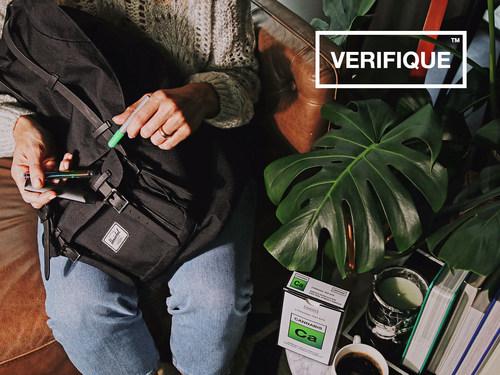 Verifique's fast, easy, discreet Cannabis Test Kit