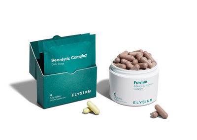 Elysium Health announces the launch of FORMAT: The first and only complete immune product to uniquely combine a daily immunomodulatory supplement with an intermittent senolytic complex to combat immune aging and support a healthy immune system.