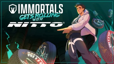 Immortals and Nitto Tire Sign Exclusive, Multi-Year Partnership