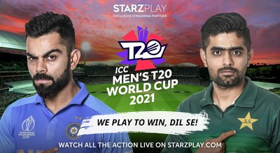 STARZPLAY Exclusive Streaming partner for ICC Men's T20 World Cup 2021