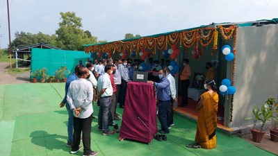 Nagpur ATUM Charge station (One of 10 charging stations launched across India)