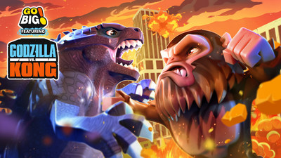 Go BIG! feat. Godzilla vs. Kong: a new casual action mobile game from Sun Machine Entertainmen