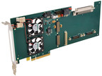 New ¾-Length, Single-Slot PCIe Carrier Card Interfaces XMC...