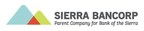 Sierra Bancorp Declares Quarterly Cash Dividend