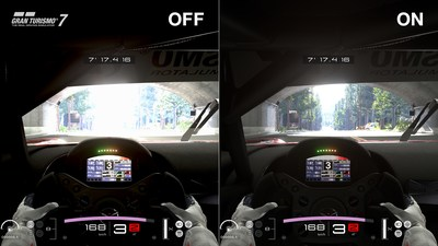Auto HDR Tone Mapping. Gran Turismo 7: TM & (c) 2020 Sony Interactive Entertainment Inc. Developed by Polyphony Digital Inc.