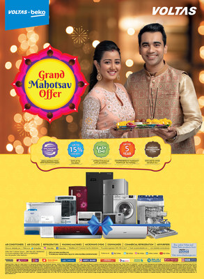 'Grand Mahotsav Offer 2021' on Voltas and Voltas Beko products will be valid till 10th November 2021 across all authorized dealers in India