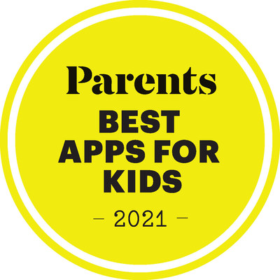 PARENTS Names Best Apps for Kids in 2021 (PRNewsfoto/Meredith Corporation)