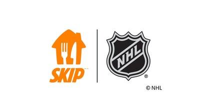 Partenariat SkipTheDishes et NHL (Groupe CNW/SkipTheDishes)