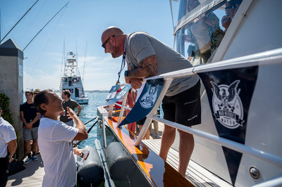 A lifelong sportfishing enthusiast, War Heroes on Water Tournament Founder and loanDepot CEO Anthony Hsieh is deeply connected to the West Coast sportfishing community, and proudly and personally helped to send off all 38 Tournament yachts.