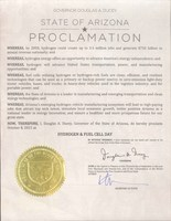 Arizona Governor Doug Ducey Declares October 8 National Hydrogen...