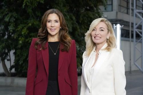 HRH The Crown Princess & Federica Marchionni