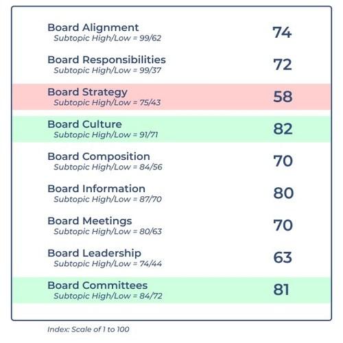 Boardspan Board Performance Index (BPI)