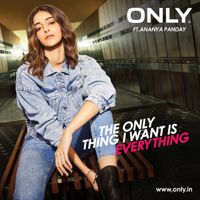 ONLY presents the newest anthem on the block – THE ONLY THING I WANT IS EVERYTHING FT. ANANYA PANDAY