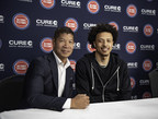 The Newest Piston Teams Up With Michigan's Newest Car Insurer - Cade Cunningham and CURE Auto Insurance All Stars in the Making