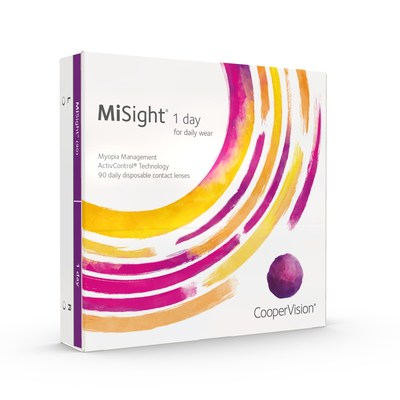 CooperVision® MiSight® 1 day contact lenses are specifically designed for myopia control and are FDA* approved to slow the progression of myopia in children aged 8-12 at the initiation of treatment.†