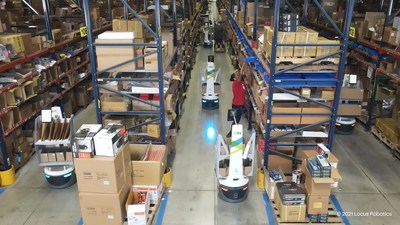 ISN improves productivity by 266% with AMR solution by Körber and Locus Robotics