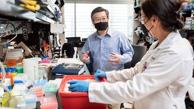 Gladstone investigator Yadong Huang and his collaborators discovered that an existing drug called bumetanide reverses signs of Alzheimer's disease in mice and may prevent the disease in humans. Photo: Michael Short/Gladstone Institutes