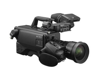 Sony Electronics'  HDC-F5500 system camera