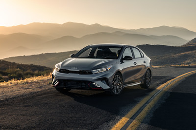 2022 Kia Forte arrives with new design identity and array of advanced technology.
